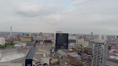 Aerial Video clip of Birmingham UK (1080p) Stock Footage