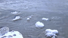 The disappearing Polar Ice Caps Stock Footage