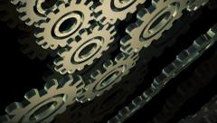 Abstract  gears episode 2 - stock footage