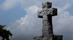TOMBSTONE time lapse Stock Footage