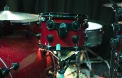 percussion box in a concert hall - stock photo