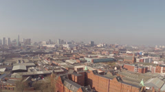 HD Aerial Video clip of Birmingham city landsccape (part 3) Stock Footage