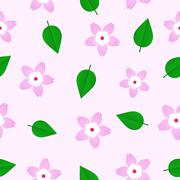 Sakura Pattern - stock illustration