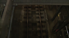 New York Subway's from above - stock footage