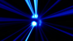 UV Beams 3 Stock Footage