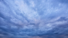 Stock Video Footage of Timelapse, somber sky