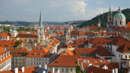 Stock Video Footage of Beautiful cityscape of Prague