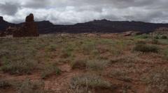 Hurrah pass utah landscape Stock Footage