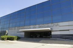 barcelona congress palace - stock photo