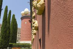 dali museum in figueres, spain - stock photo