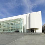 Macba museum in barcelona, spain. Stock Photos