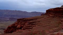 Hurrah pass trail moab utah Stock Footage