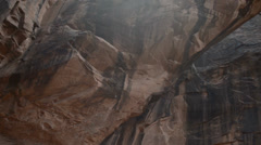 morning glory bridge moab utah - stock footage