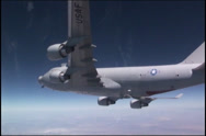 Stock Video Footage of Airborne Laser Testbed Experiment, The Boeing YAL-1 Airborne Laser Testbed
