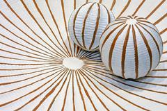 Geometric balls Stock Photos
