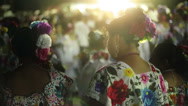 Stock Video Footage of Girls dressed in typical mexican costumes