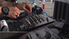 DJ Groove Bit - stock footage