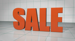 Sale Now On Animation Stock Footage