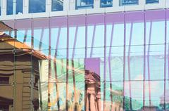 Stock Photo of architectural reflections
