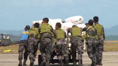 Typhoon Haiyan Yolanda Relief Aid Stock Footage