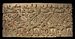 intricate patterns on caliphate relief - stock photo
