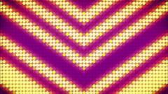 Arrows Purple Yellow Light Background 2 Stock Footage