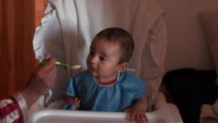First spoon Stock Footage