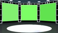 Videoseinä animaatio - green screen vaikutus Arkistovideo