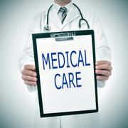 medical care - stock photo