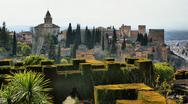 Stock Photo of alhambra palace & gardens in grenade
