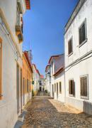 Streets of moura village Stock Photos