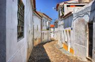 Stock Photo of streets of moura village