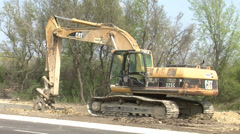 Heavy Machinery Stock Footage