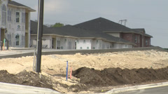 Housing Construction Stock Footage