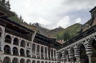 Stock Photo of Rila monastery, the most famous monastery in Bulgaria