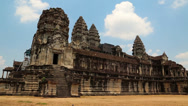 Stock Video Footage of Angkor Wat temple, Siem Reap, Cambodia