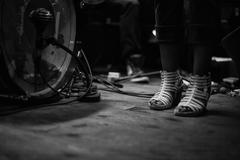 Live music heels Stock Photos