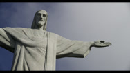Stock Video Footage of 5K UHD Timelapse Christ The Redeemer Statue/Clouds Rio De Janeiro,Brazil (Tight)