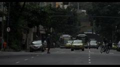 5K UHD Rio De Janeiro Urban Traffic Stock Footage