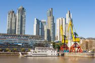 Stock Photo of puerto madero, buenos aires, argentina