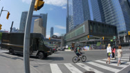 Stock Video Footage of 4K UPS Delivery Truck in Toronto