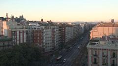 Barcelona - Catalonia - Spain - Avinguda del Paral·lel - HD 1920 X 1080P Stock Footage
