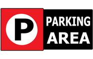 Stock Illustration of parking vehicle sign symbol area