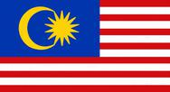 Stock Illustration of malaysia flag drawing by pastel on charcoal paper