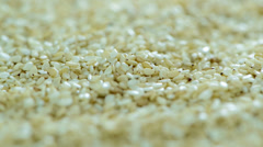 Sesame background (loopable video) Stock Footage
