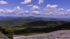 Time-lapse New Hampshire Rolling Clouds - stock footage