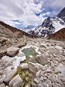 Stock Photo of Himalayan Landscape, Everest Region, Nepal