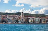 Stock Photo of vodice is a small town on the adriatic coast in croatia