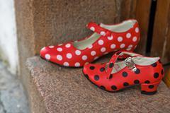 Flamenco dance shoes Kuvituskuvat