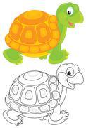 Turtle - stock illustration
